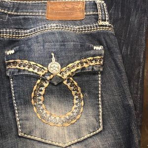 Big Star mid rise Maddie Boot Jeans 29R